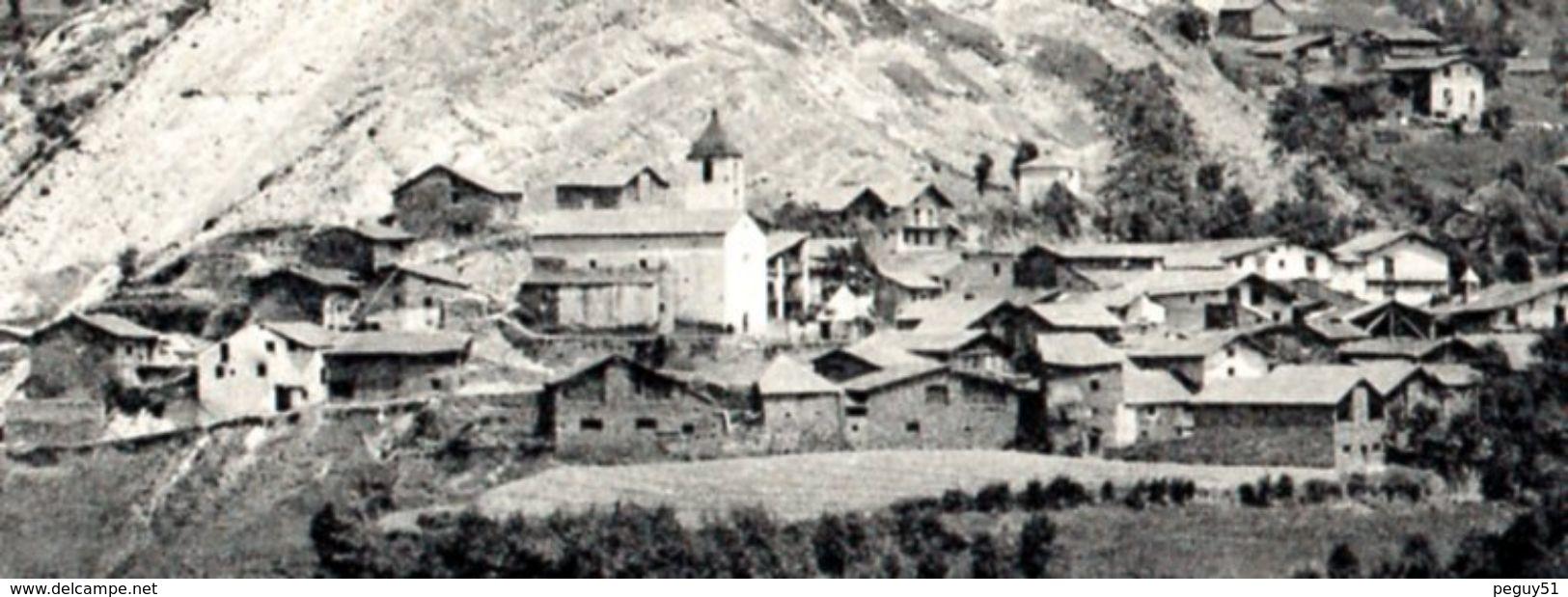 Andorre. Vallée De La Valira Del Nord. Ordino.  Vue Générale Du Village. - Andorre