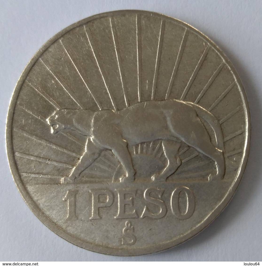 1 Peso 1942 - URUGUAY - Argent - Superbe - - Uruguay