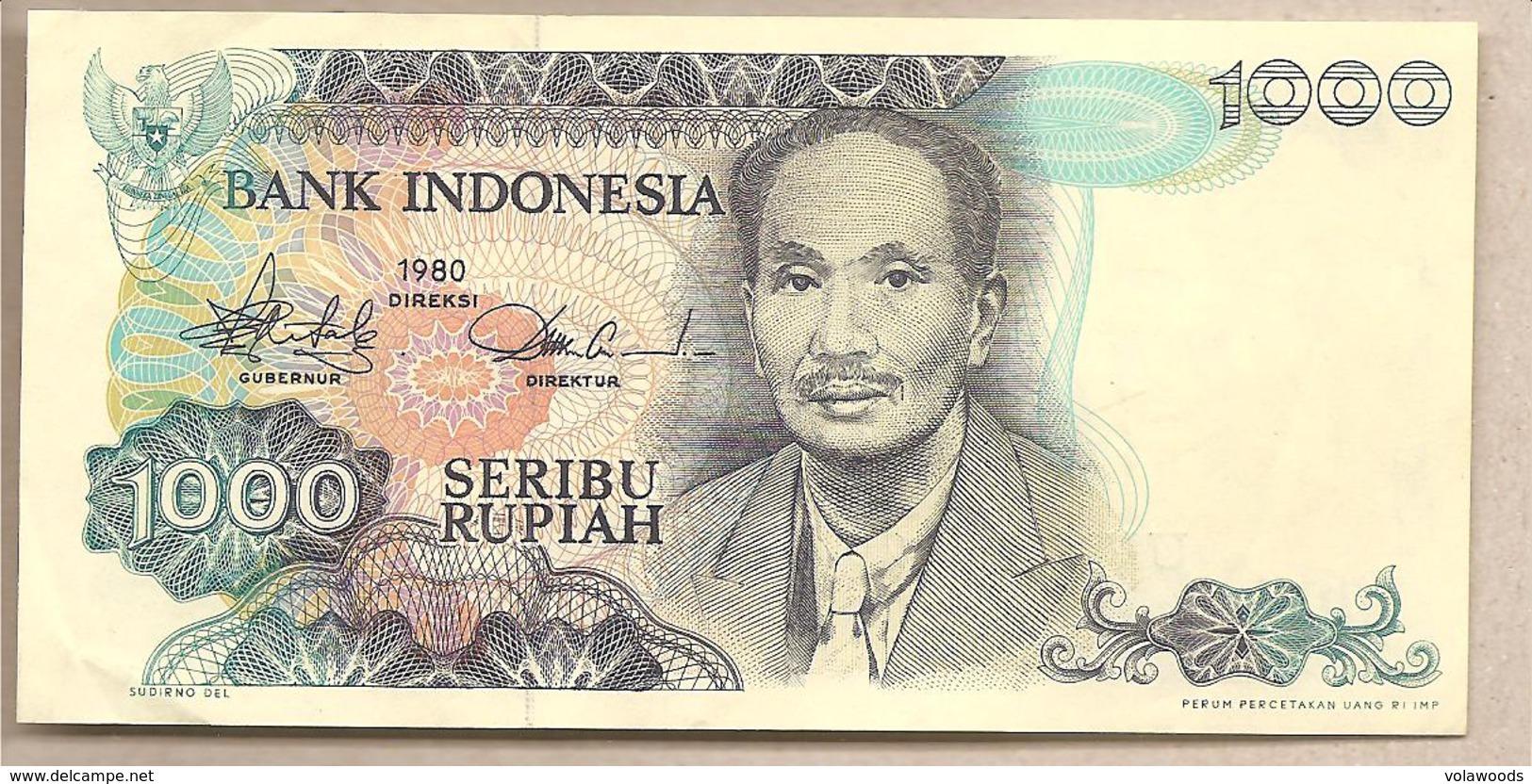 Indonesia - Banconota Circolata QFdS Da 1000 Rupie P-119 - 1980 - Indonesia