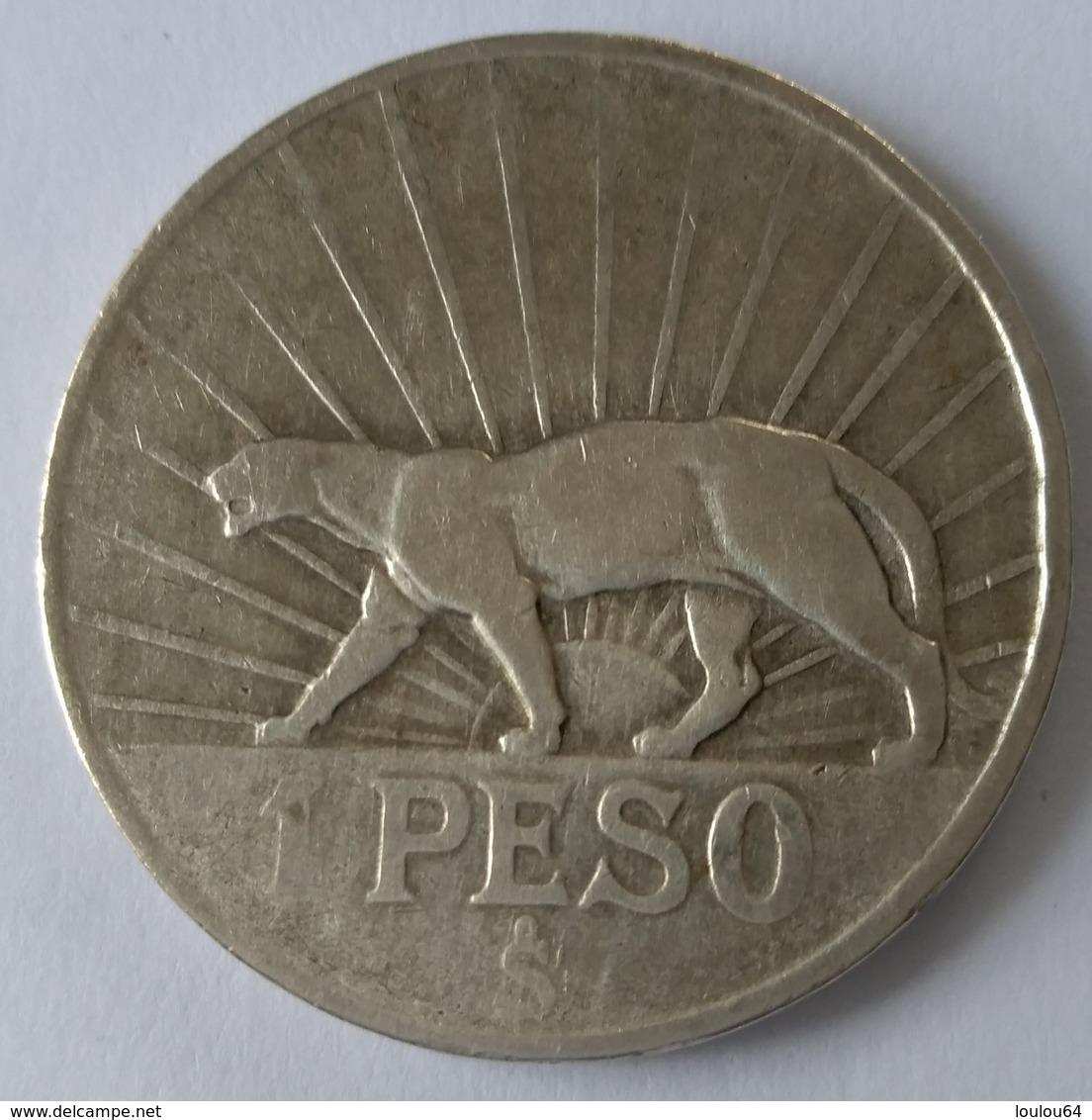 1 Peso 1942 - URUGUAY - Argent - - Uruguay