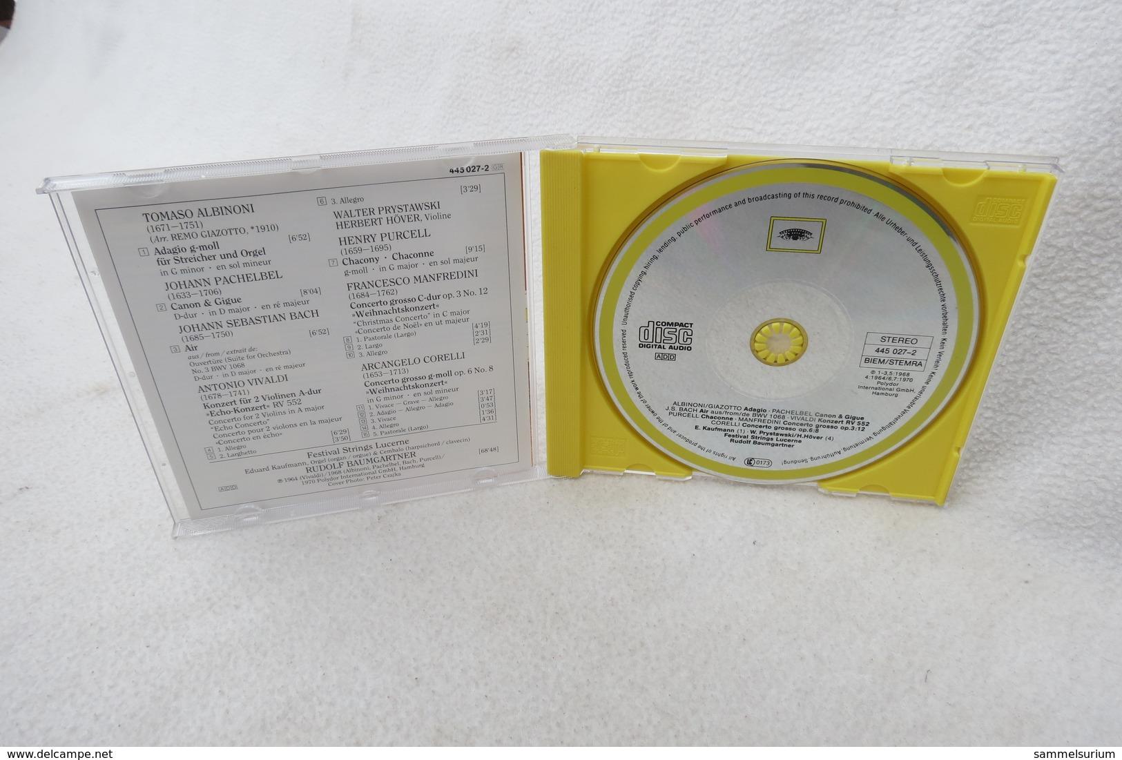 "CD ""Albinoni/Pachelbel/Bach/Purcell/Corelli/Vivaldi"" Festival Strings Lucerne (Deutsche Grammophon) - Klassik"