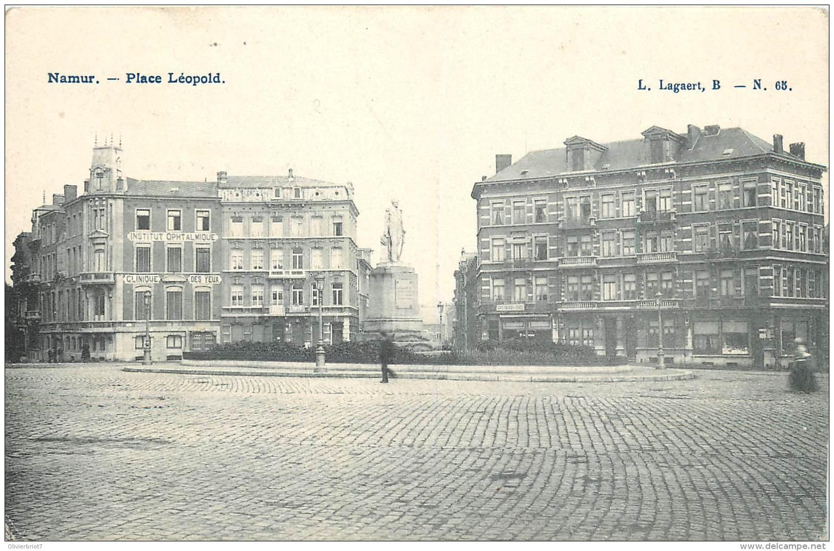 Namur - Place Léopold - Edit. L. Lagaert N° 68 - Namur