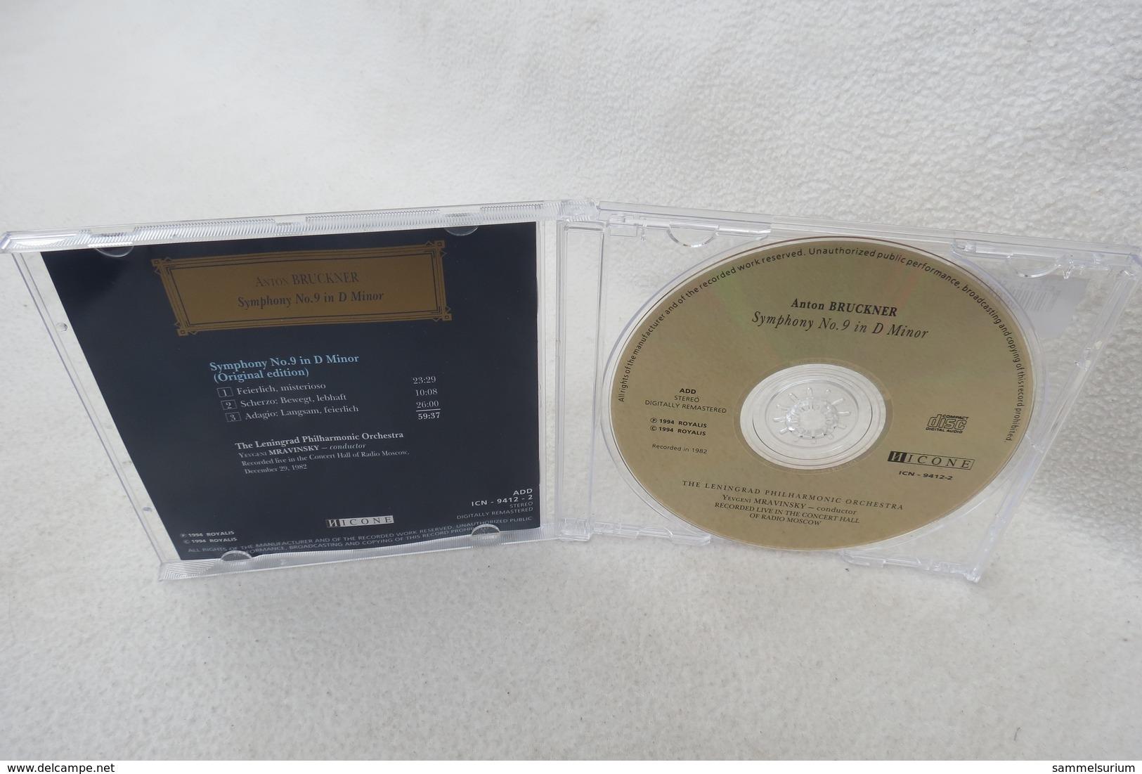 """CD """"Anton Bruckner"""" Symphony No. 9 In D Minor Leningrad Philharmonic Orchestra - Klassik"""