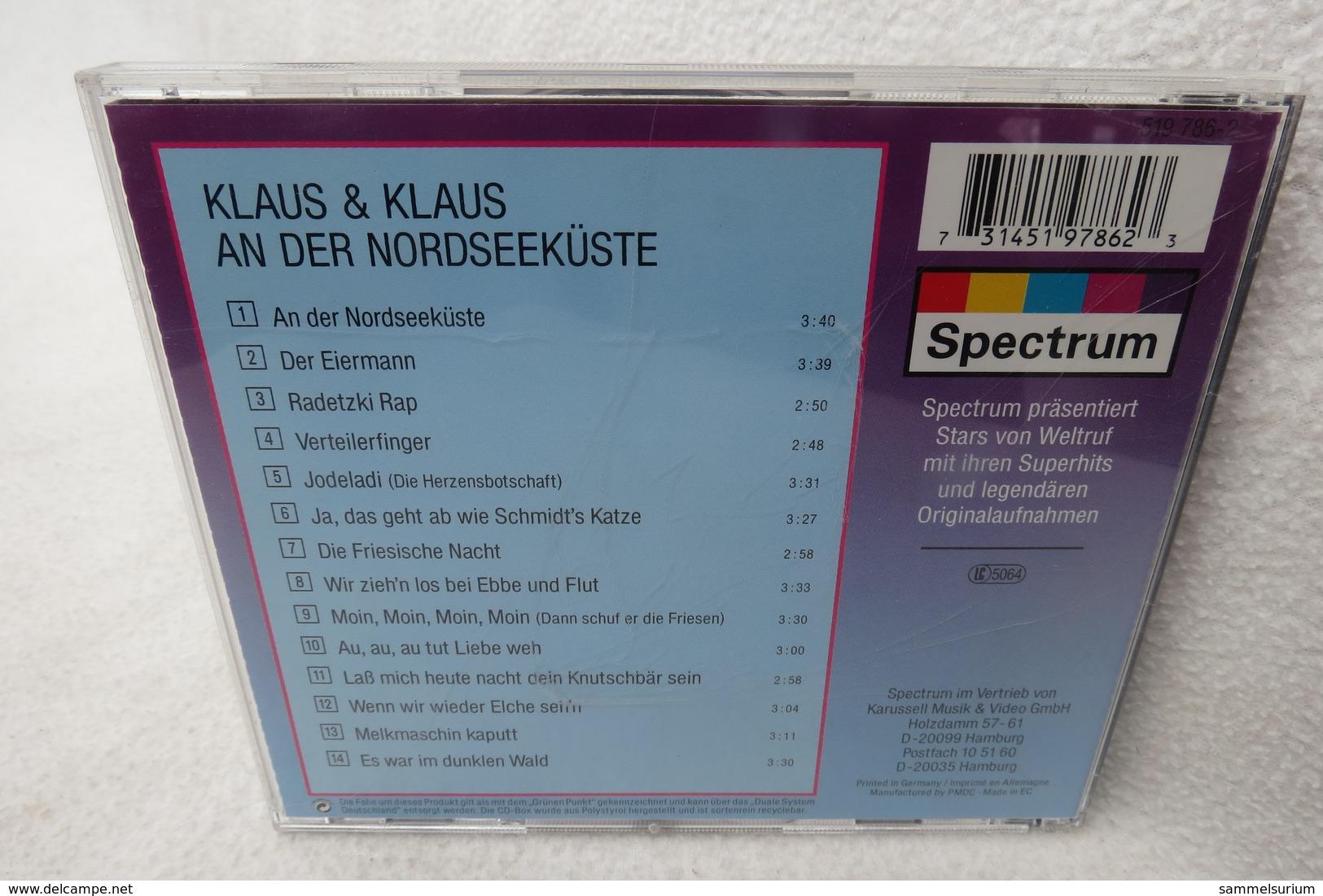 """CD """"Klaus & Klaus"""" An Der Nordseeküste - Musik & Instrumente"""