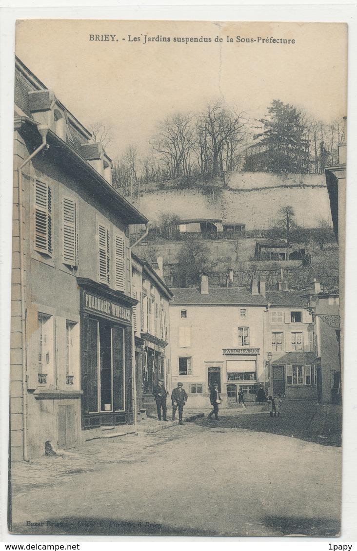 Meurthe Et Moselle - Briey - Les Jardins Suspendus De La Sous Préfecture - Briey