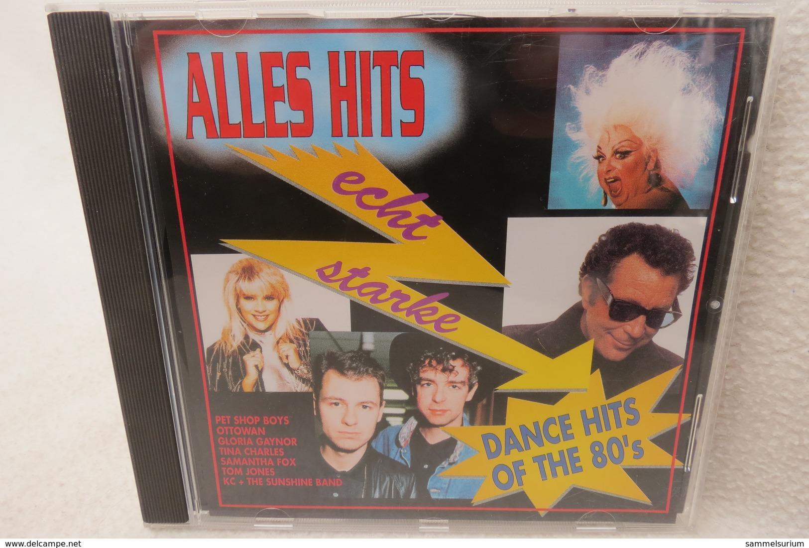 "CD ""Echt Starke Dance-Hits Of The 80's"" Div. Interpreten - Hit-Compilations"