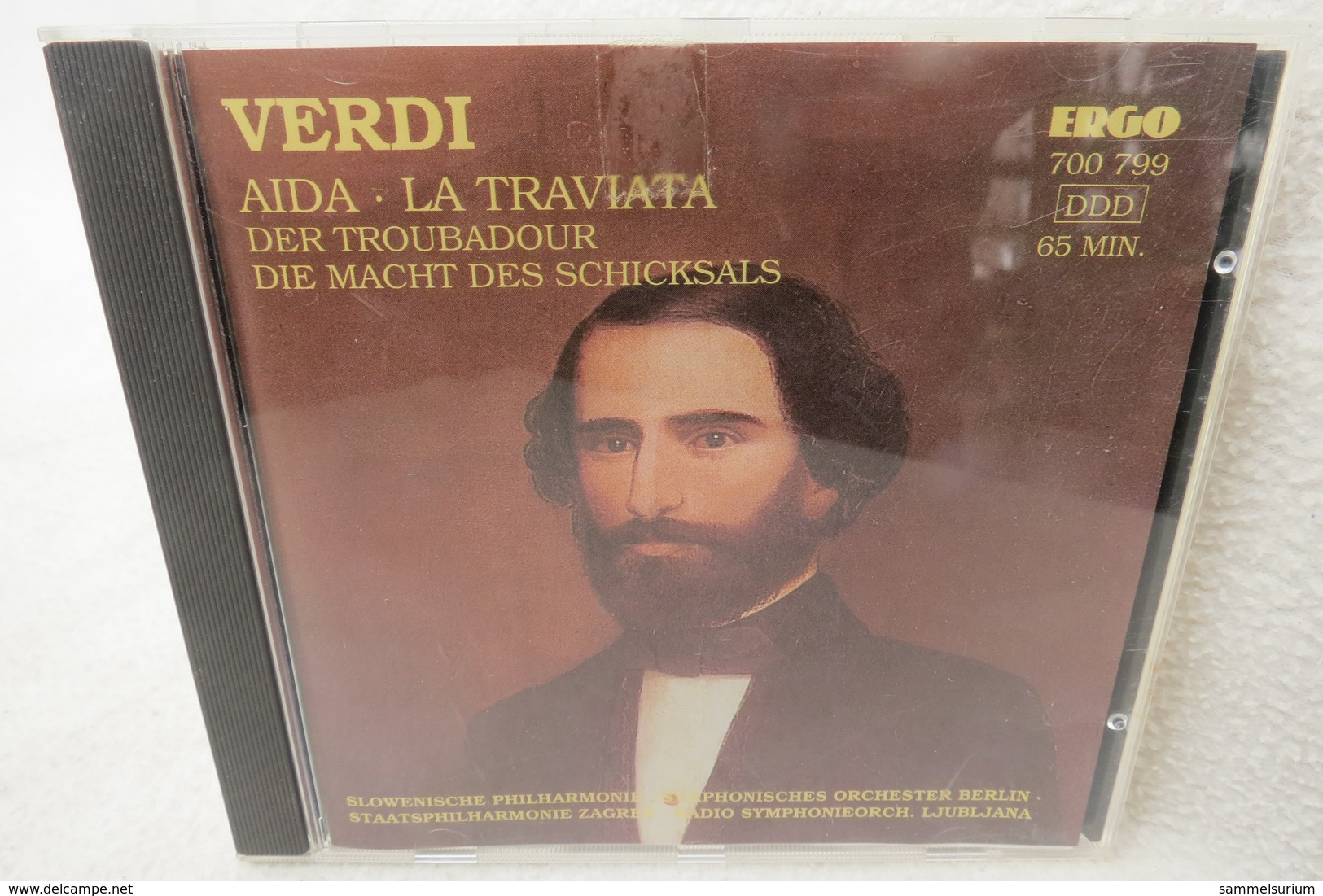 """CD """"Verdi"""" Aida, La Traviata, - Klassik"""