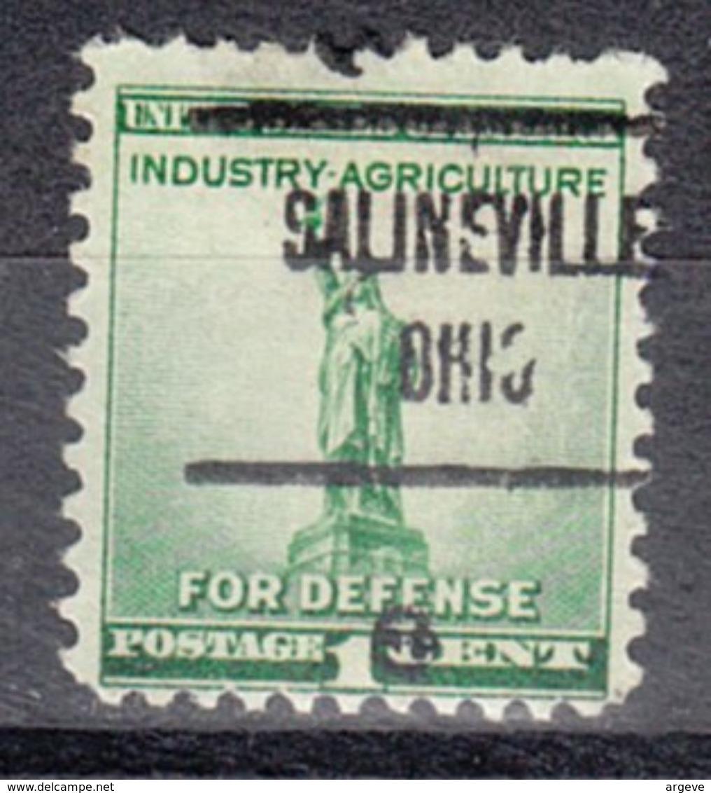 USA Precancel Vorausentwertung Preo, Locals Ohio, Salineville 723 - Vereinigte Staaten
