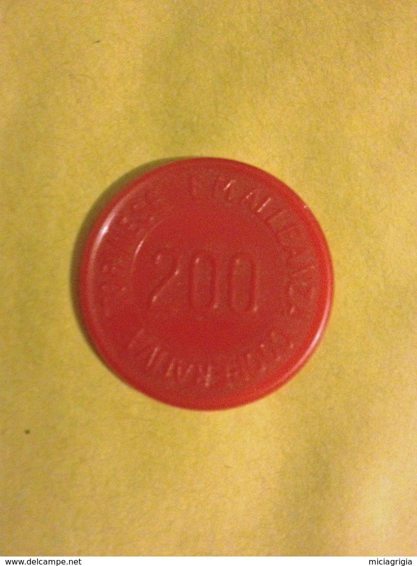 TOKEN JETON GETTONE SUPERMERCATO COOPERATIVA TORINESE 200 LIRE SPECIALITA' ELISIR CHINA - Monetari/ Di Necessità