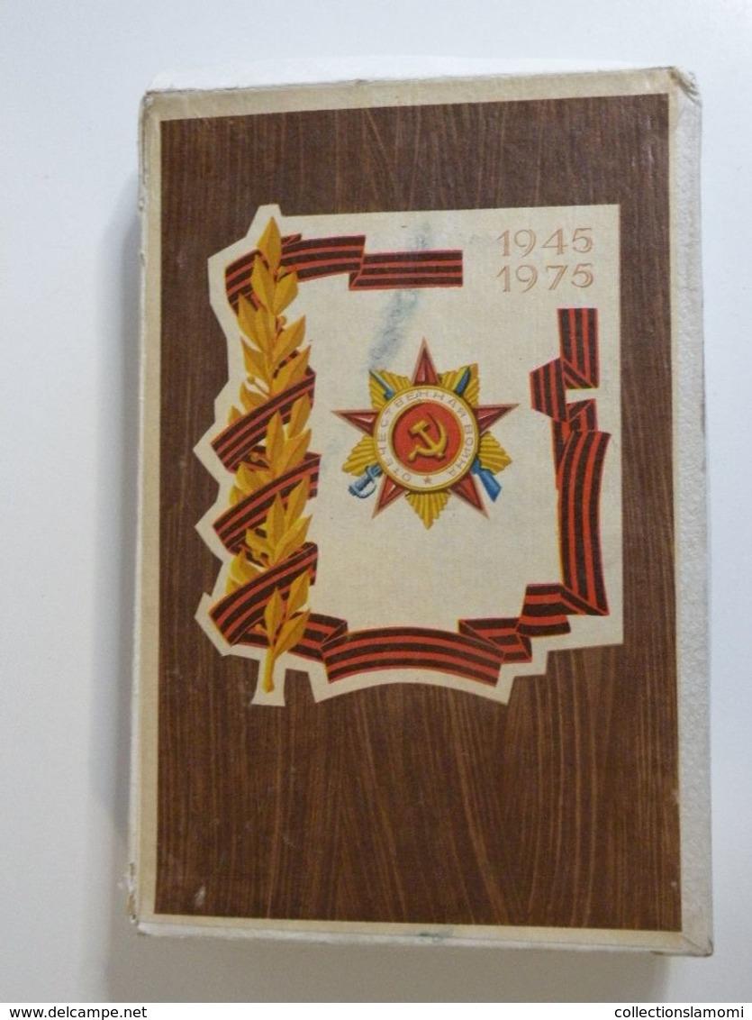 Boites Allumettes URSS 1945-1975(RUSSIE) 1Grande Boite Et 24 Petite Boites Neuves Jamais Servie Plus De 43 Ans - Boites D'allumettes - Etiquettes