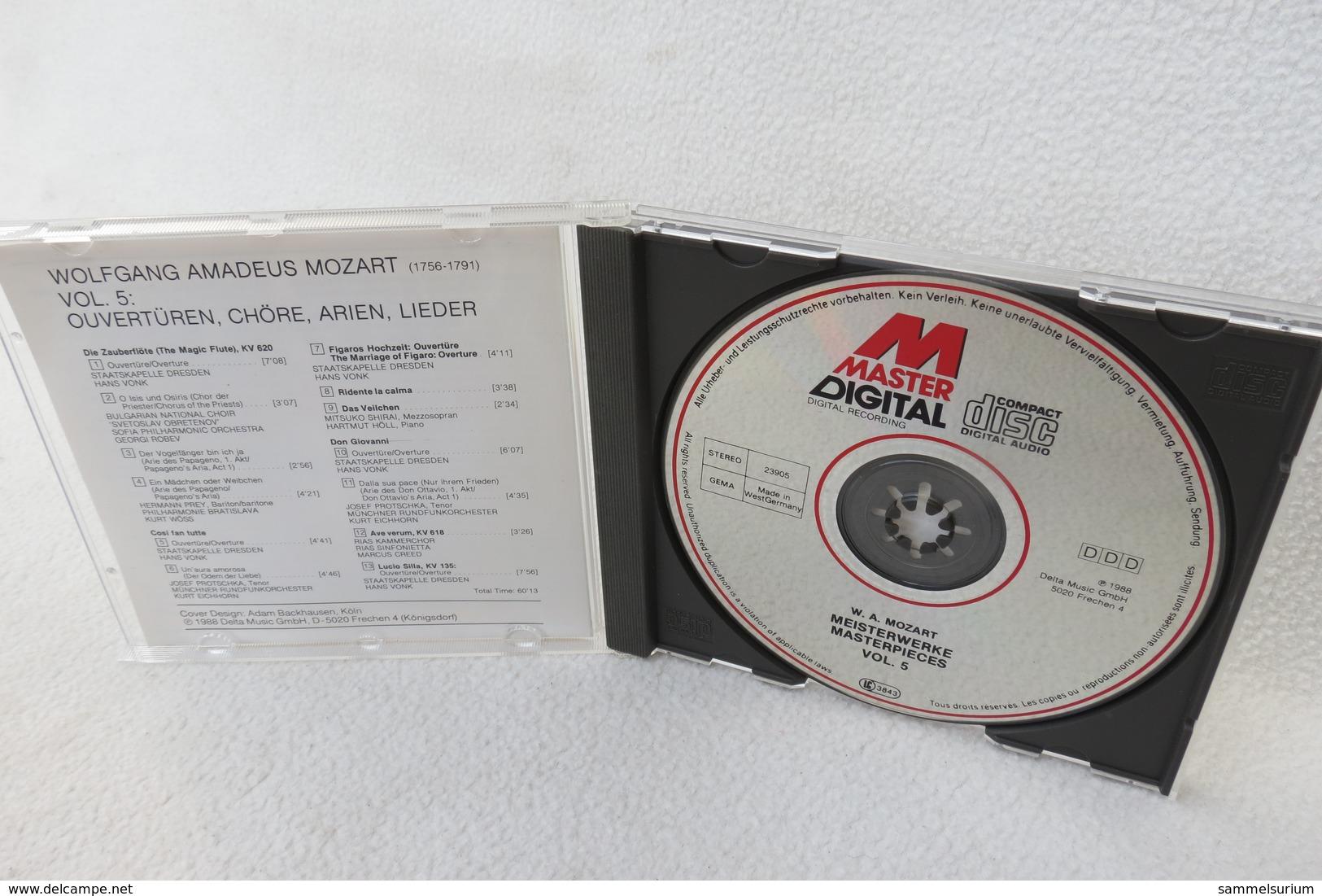 """CD """"Wolfgang Amadeus Mozart"""" Meisterwerke CD 5 - Klassik"""