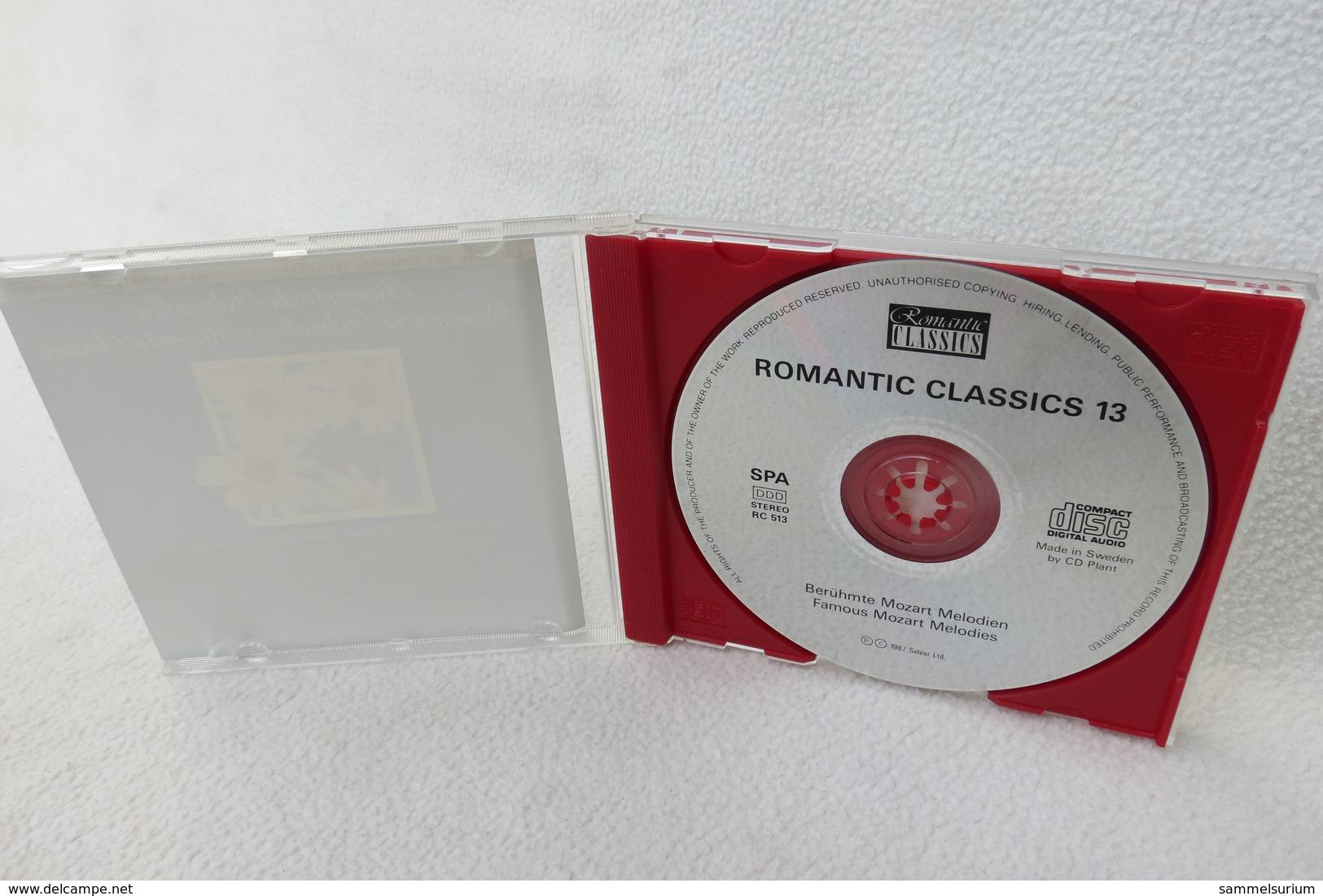 "CD ""Romantische Klassiker"" Berühmte Mozart Melodien - Klassik"
