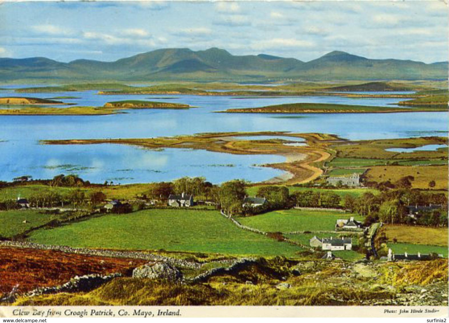 IRELAND - MAYO - CLEW BAY FROM CROAGH PATRICK - JOHN HINDE  Mc58 - Mayo
