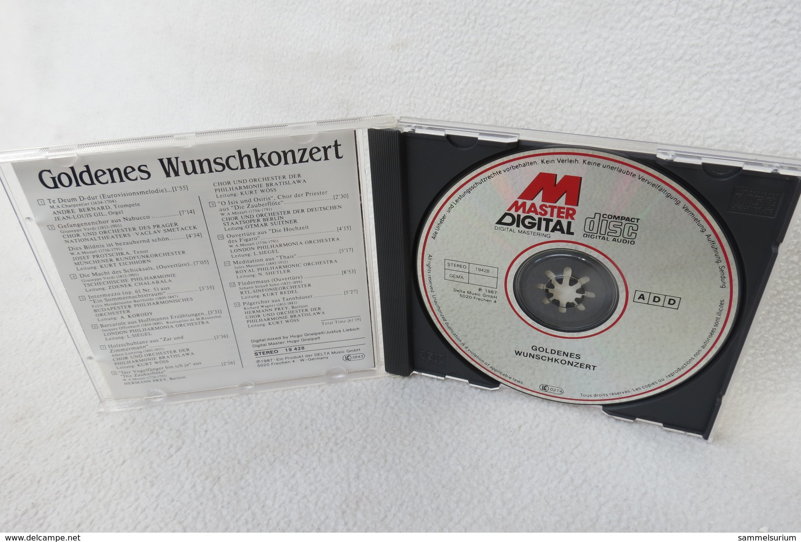 "CD ""Goldenes Wunschkonzert"" Favourites Of Classical Music - Klassik"