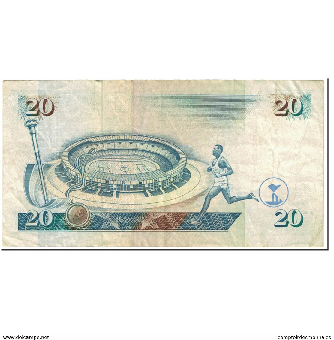 Billet, Kenya, 20 Shillings, 1995, 1995-07-01, KM:32, SUP - Kenya