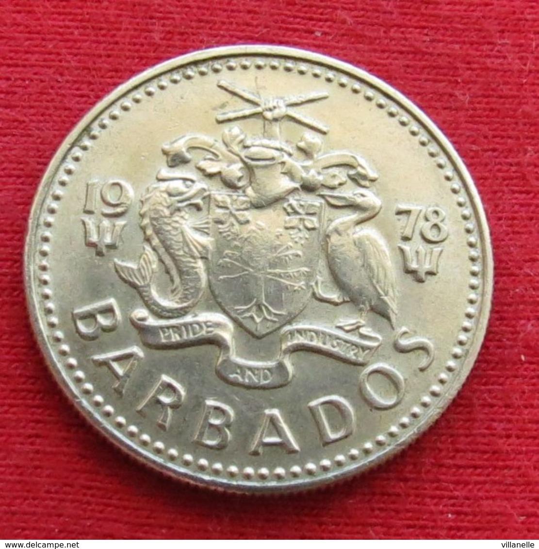 Barbados 25 Cents 1978 KM# 13 Barbade Barbades - Barbades
