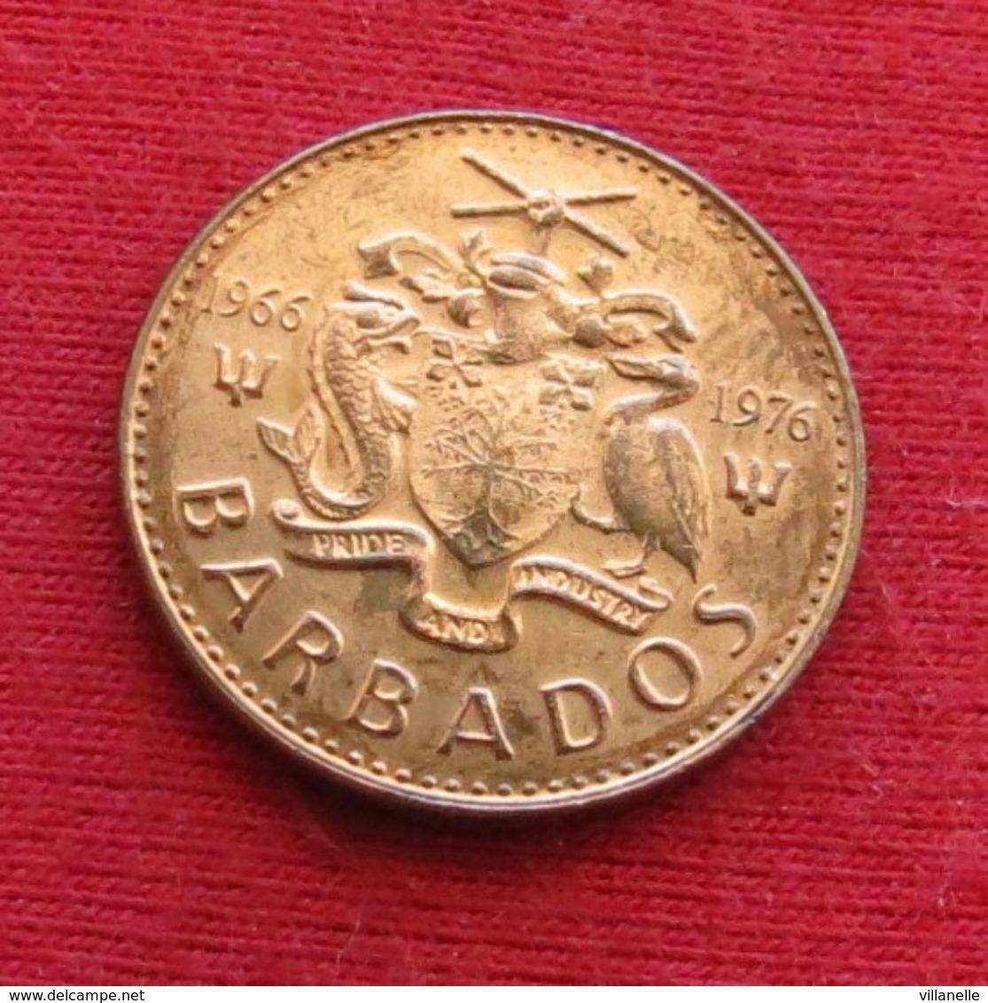 Barbados 1 Cent 1976 KM# 19 1966 - 1976 Barbades Barbade - Barbades