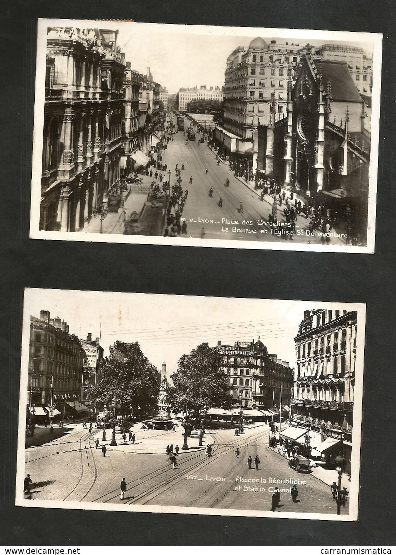 LYON  - Lotto Di 4 Cartoline / Cartes Postales - Lyon