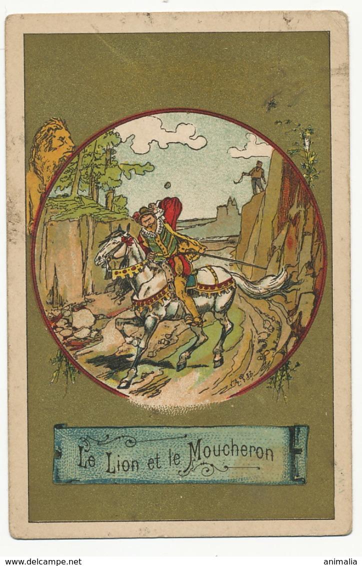 La Fontaine Le Lion Et Le Moucheron . The Lion And The Insect - Lions