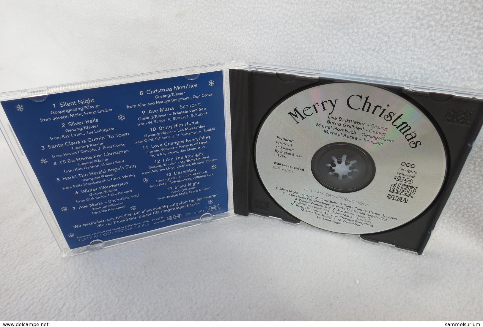 """CD """"Merry Christmas"""" Div. Interpreten - Weihnachtslieder"""