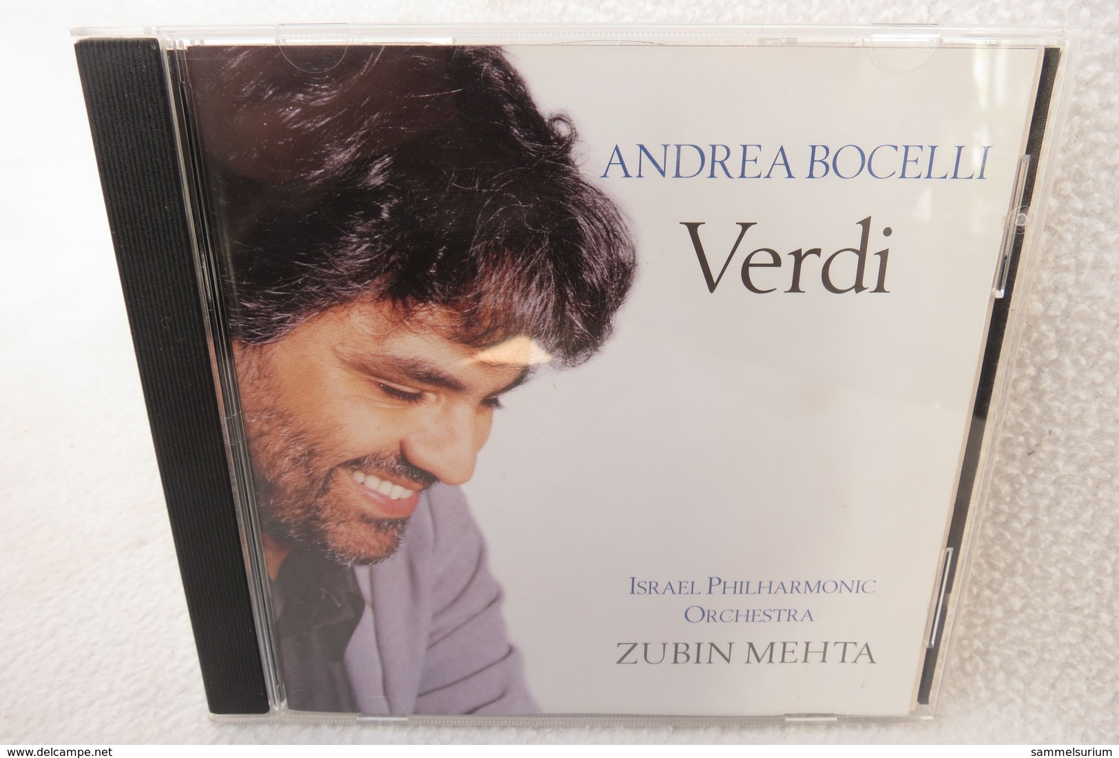 "CD ""Andrea Bocelli"" Verdi, Israel Philharmonic Orchestra Zubin Mehta - Klassik"