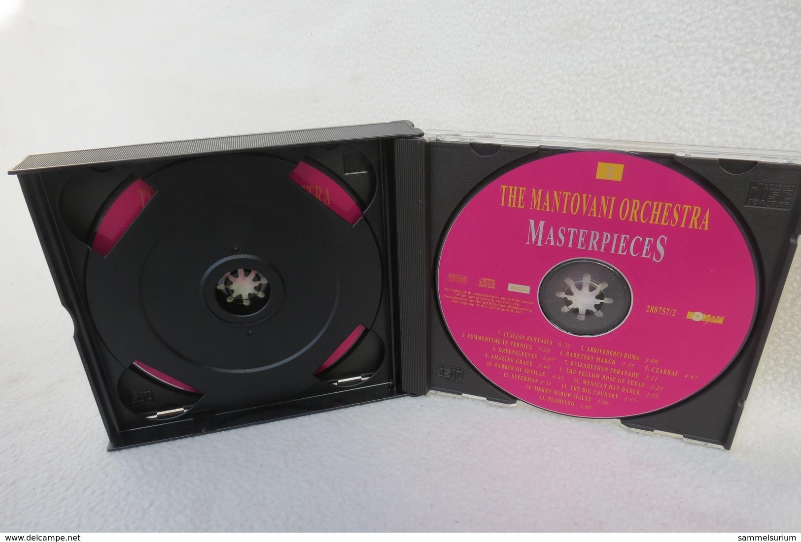 "2 CDs ""The Mantovani Orchestra"" Masterpieces - Instrumental"