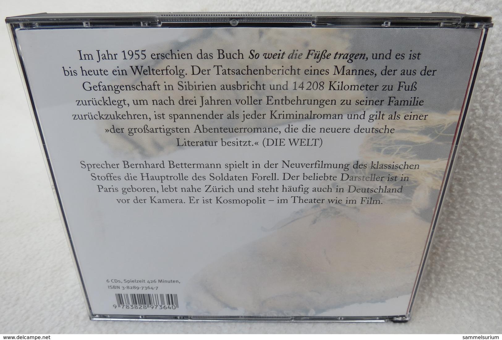 """6 CDs """"Soweit Die Füße Tragen"""" Hörbuch, 426 Minuten Spielzeit - Musik & Instrumente"""