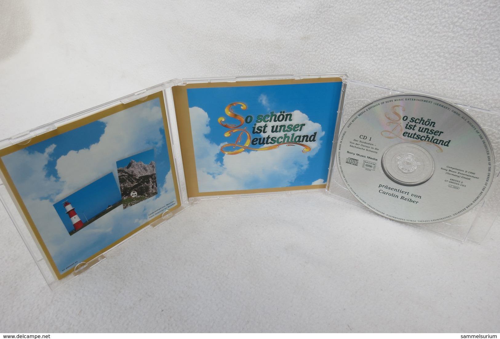 """2 CDs """"So Schön Ist Unser Deutschland"""" Caroline Reiber Präsentiert Lieder, Die Von Herzen Kommen - Sonstige - Deutsche Musik"""