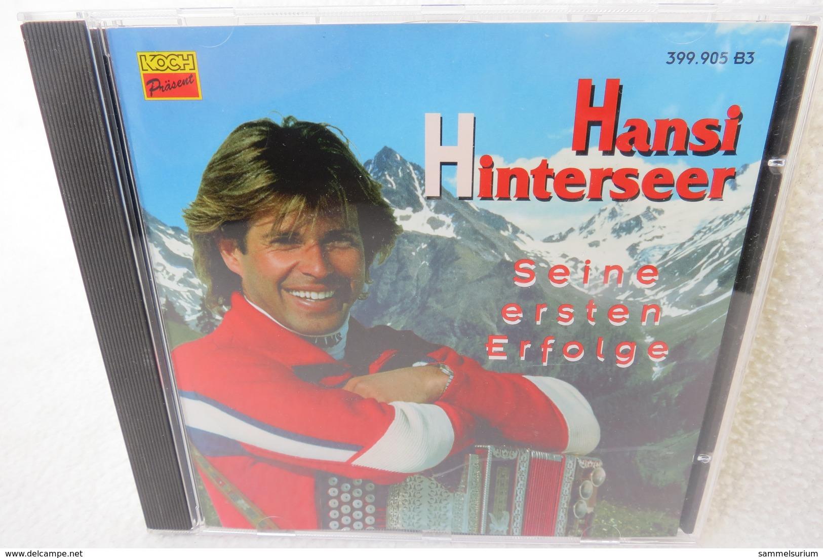 """CD """"Hansi Hinterseer"""" Seine Ersten Erfolge - Sonstige - Deutsche Musik"""