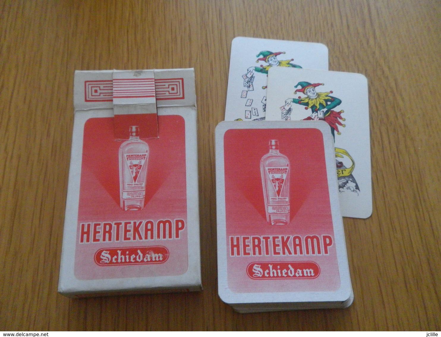 Jeu De 54 Cartes à Jouer - Liqueur HERTEKAMP SCHIEDAM - 54 Cartes
