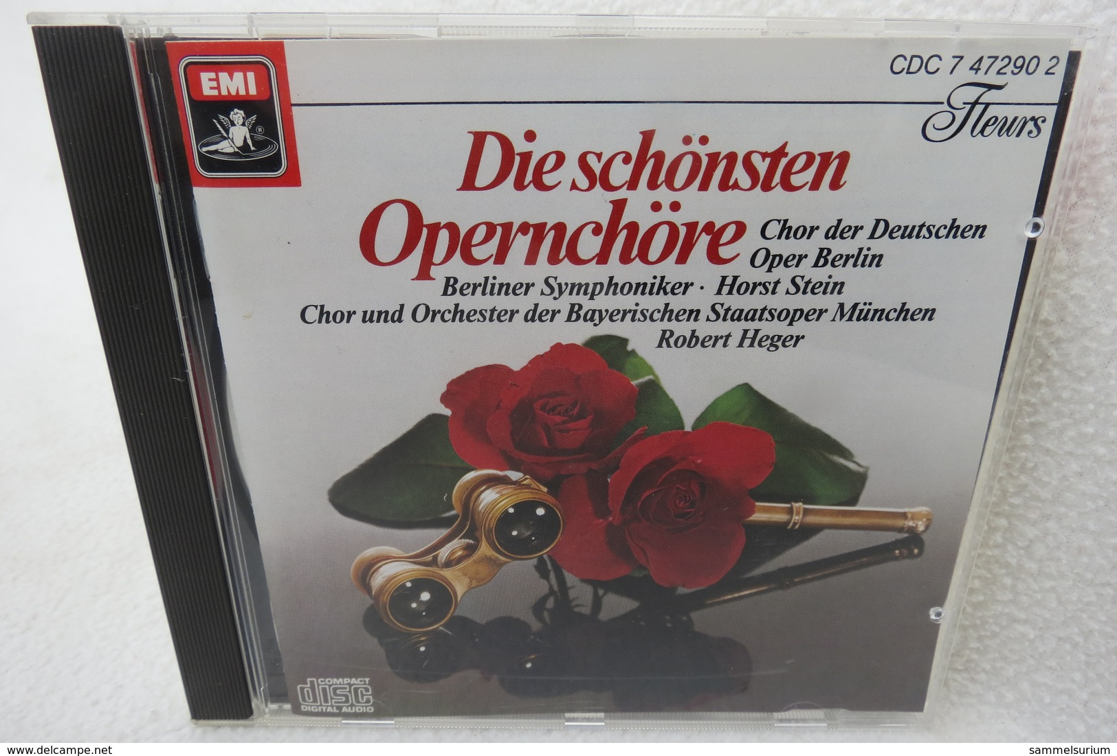 """CD """"Die Schönsten Opernchöre"""" Chor Der Deutschen Oper Berlin, Chor Und Orchester Der Bayerischen Staatsoper München - Oper & Operette"""