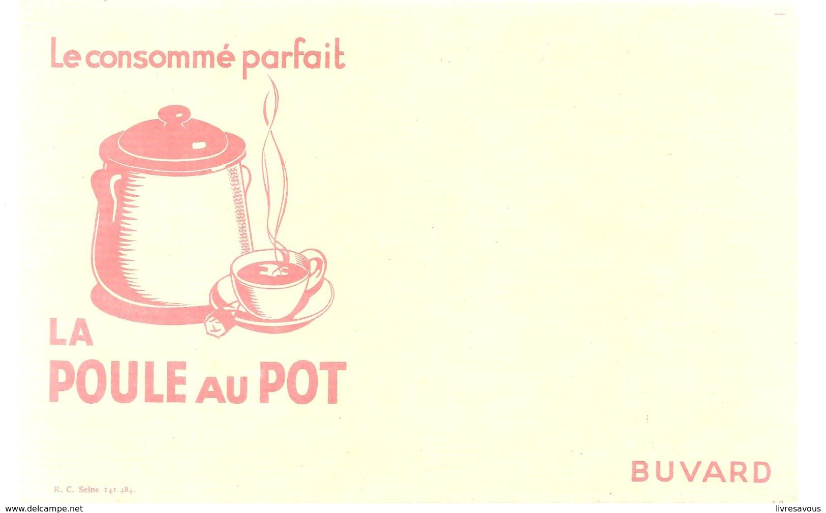 Buvard La Poule Au Pot Le Consommé Parfait - Sopas & Salsas