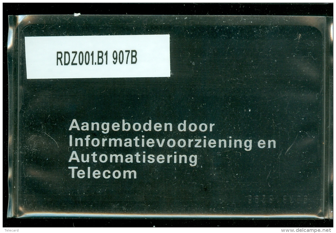 Telefoonkaart  LANDIS&GYR NEDERLAND * RDZ.001 B1 907B * Pays Bas Niederlande Prive Private  ONGEBRUIKT * MINT CV 250 - Nederland