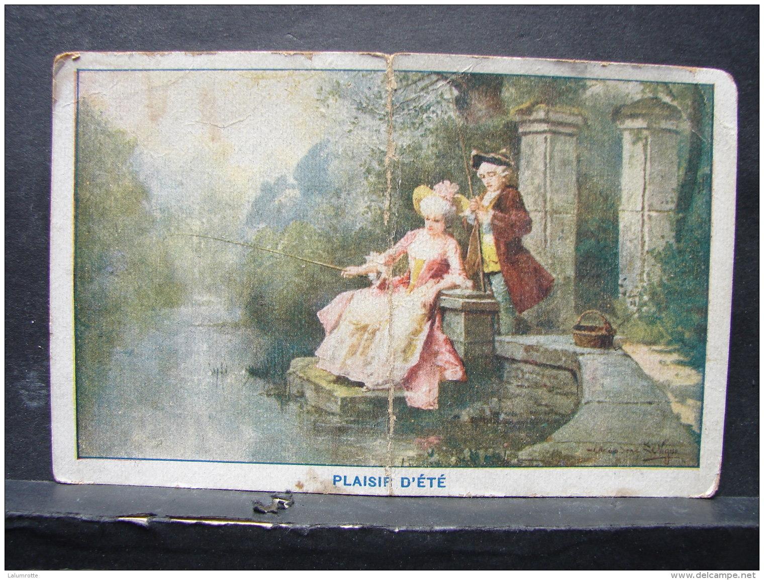 Calendrier. 8. Petit Calendrier De 1929 Format CP. Publicité Du Thé  DASNOIS - Calendriers