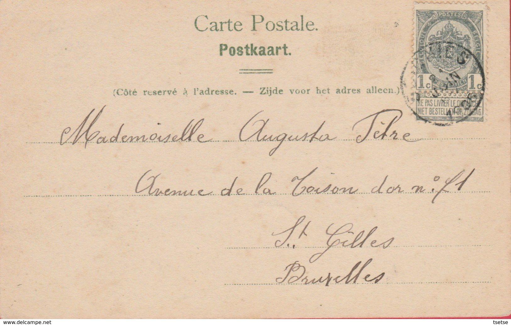Soignies - Carrières Du Hainaut - Pont Roulant Et Elévateur - 1906 ( Voir Verso ) - Soignies