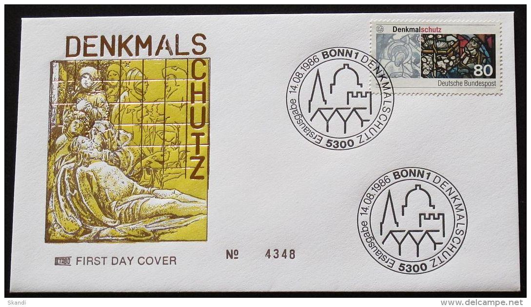 DEUTSCHLAND 1986 Mi-Nr. 1291 FDC - BRD