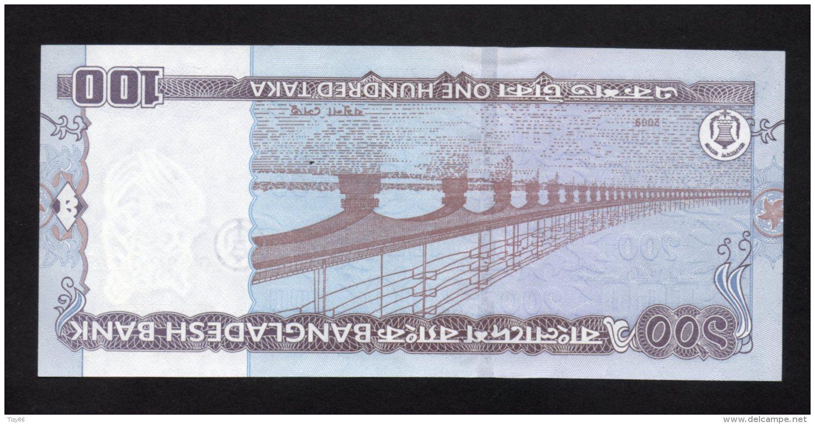 Banconota Bangladesh 100 Taka 2009 FDS/UNC - Bangladesh