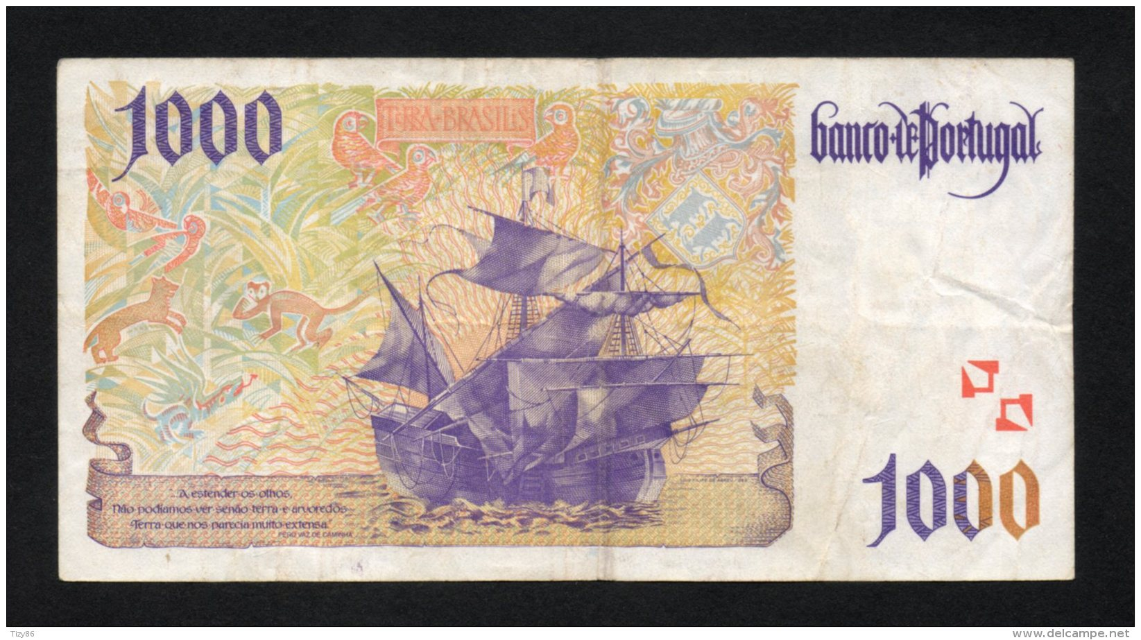 Banconota 1000 Scudi Portoghesi 1996 (circolata) - Portugal