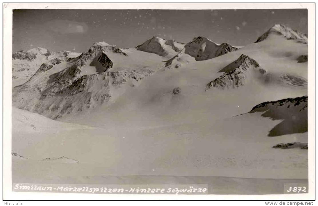 Similaun - Marzellspitzen - Hintere Schwärze (3872) - Sölden