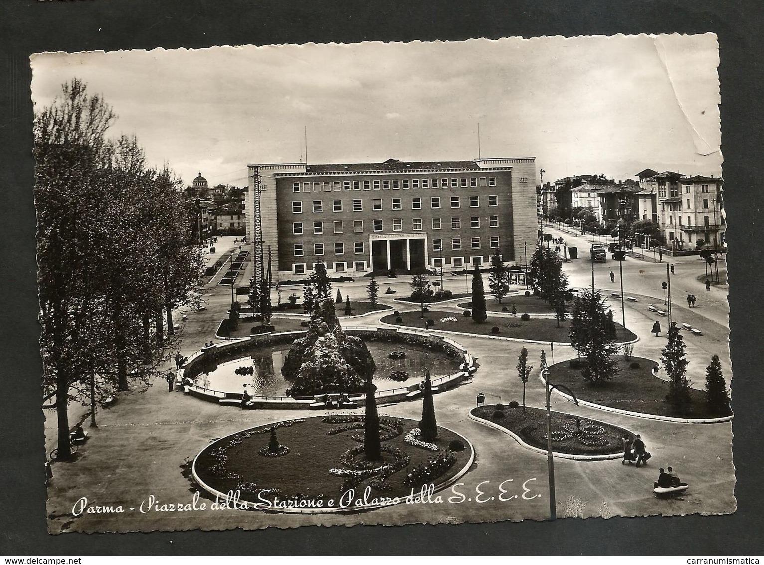 PARMA - PIAZZALE Della STAZIONE ( Spedita 1953 ) - Parma