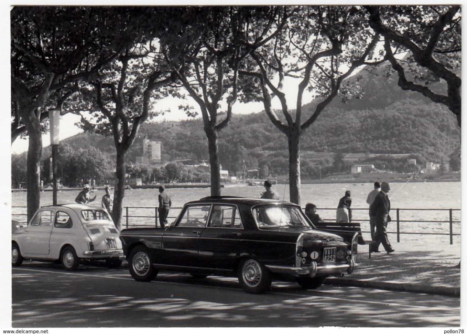 FOTOGRAFIA - AUTOMOBILI - CARS - LECCO - 1965 - Vedi Retro - Automobili