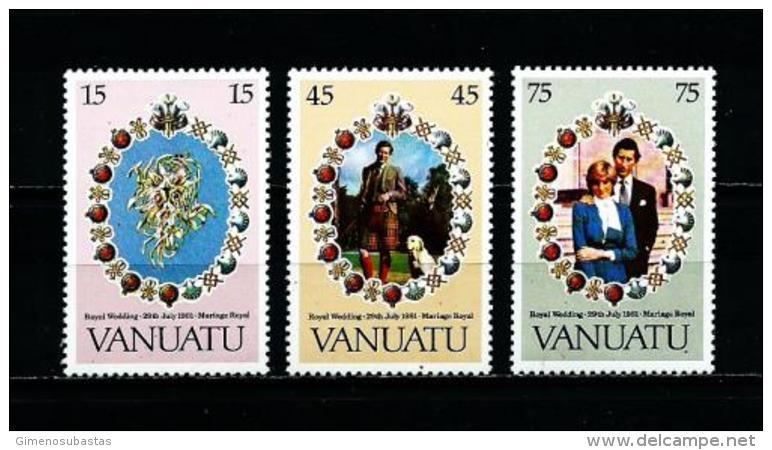 Vanuatu  Nº Yvert  628/30  En Nuevo - Vanuatu (1980-...)