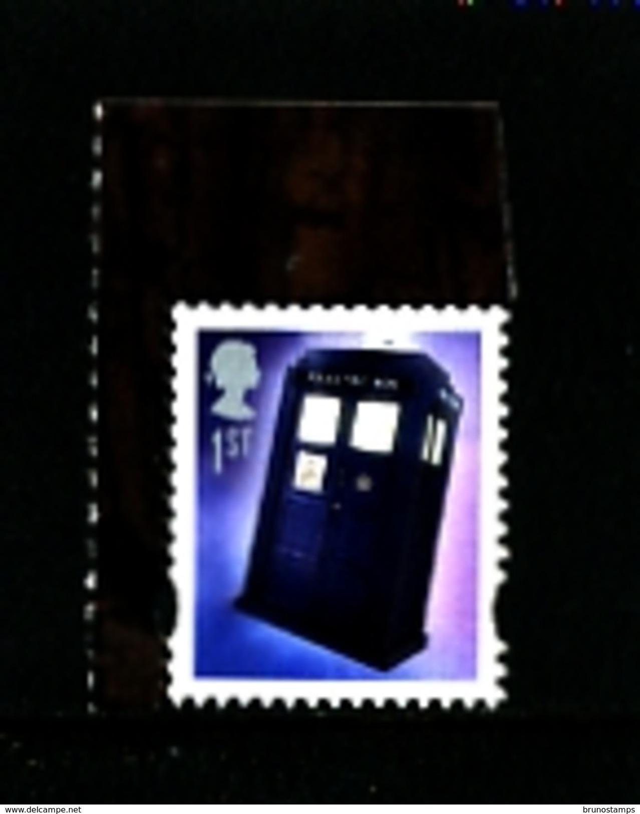 GREAT BRITAIN - 2013  DOCTOR WHO  1st TARDIS  GUMMED  EX  PRESTIGE  BOOKLET  MINT NH - 1952-.... (Elisabetta II)