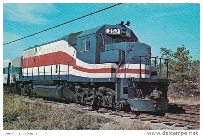 Long Island Railroad GP 38-2 Locomotive No 1776 At Ronkonkoma Ne