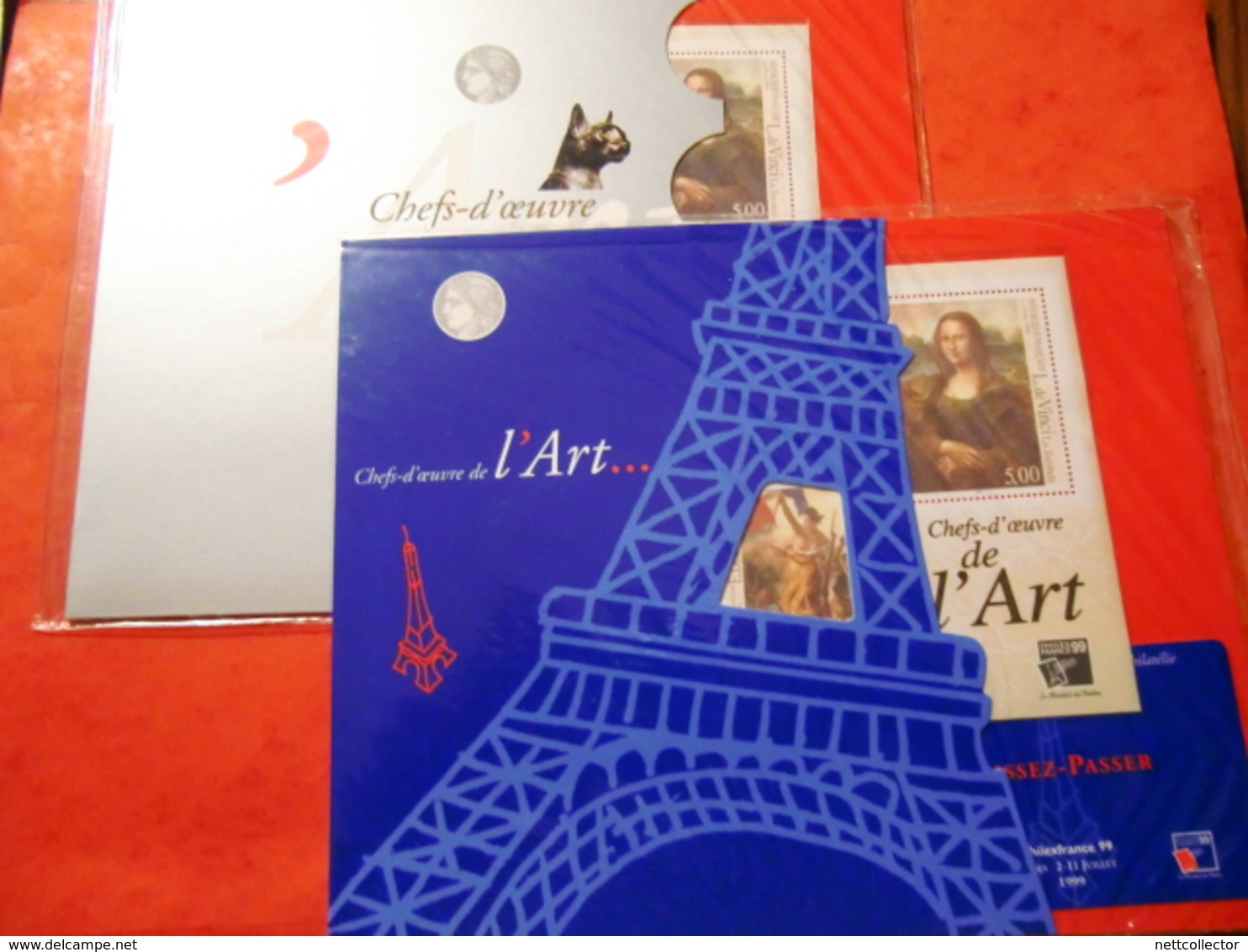 FRANCE FACIALE + 230 EUROS /50 GRANDS BLOCS NEUFS** SUPERBES - Frankreich
