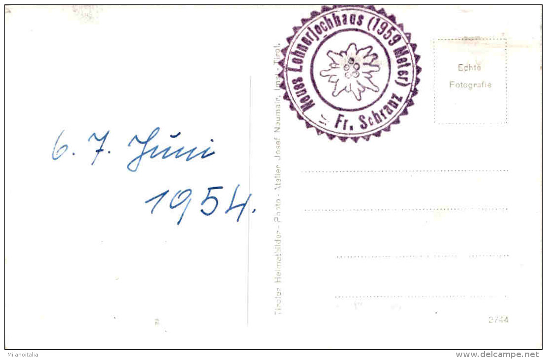 Lehnerjoch-Hütte - Pitztal, Tirol - Gegen Den Kaunergrat * 6. 6. 1954 - Pitztal