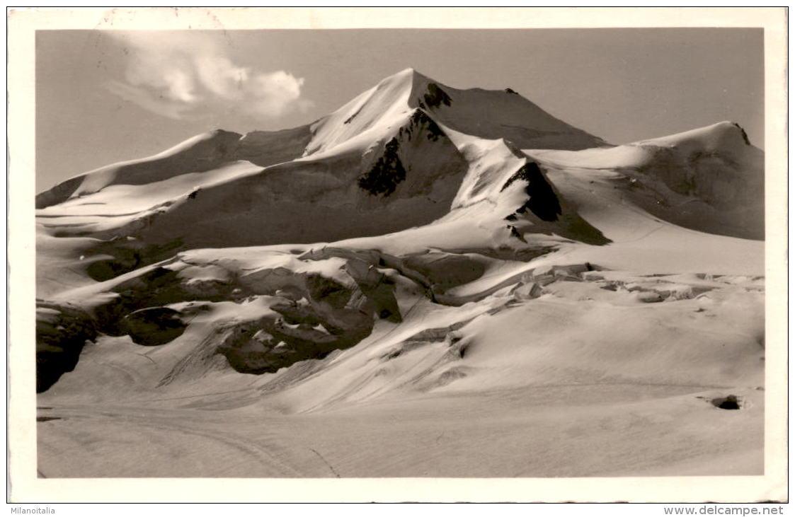 Blick Vom Taschachferner Auf Die Wildspitze (598) * 1. 10. 1941 - Pitztal