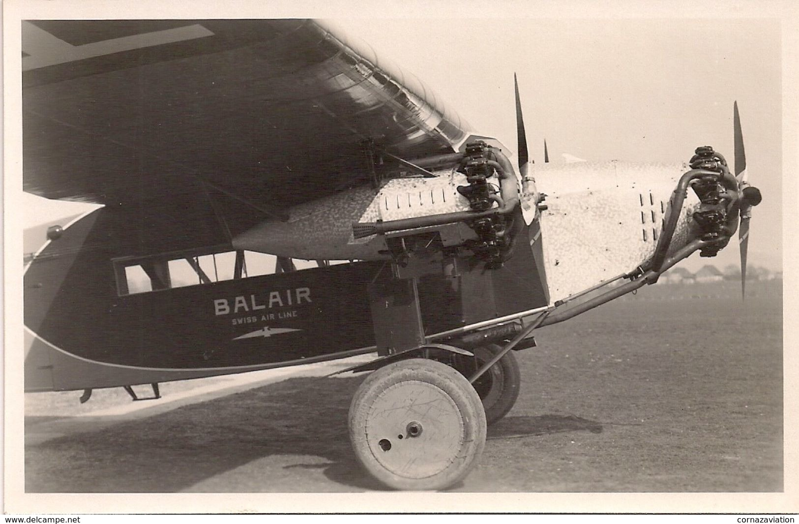 Aviation - Avion Fokker - Flugplatz Basel - Aérodromes
