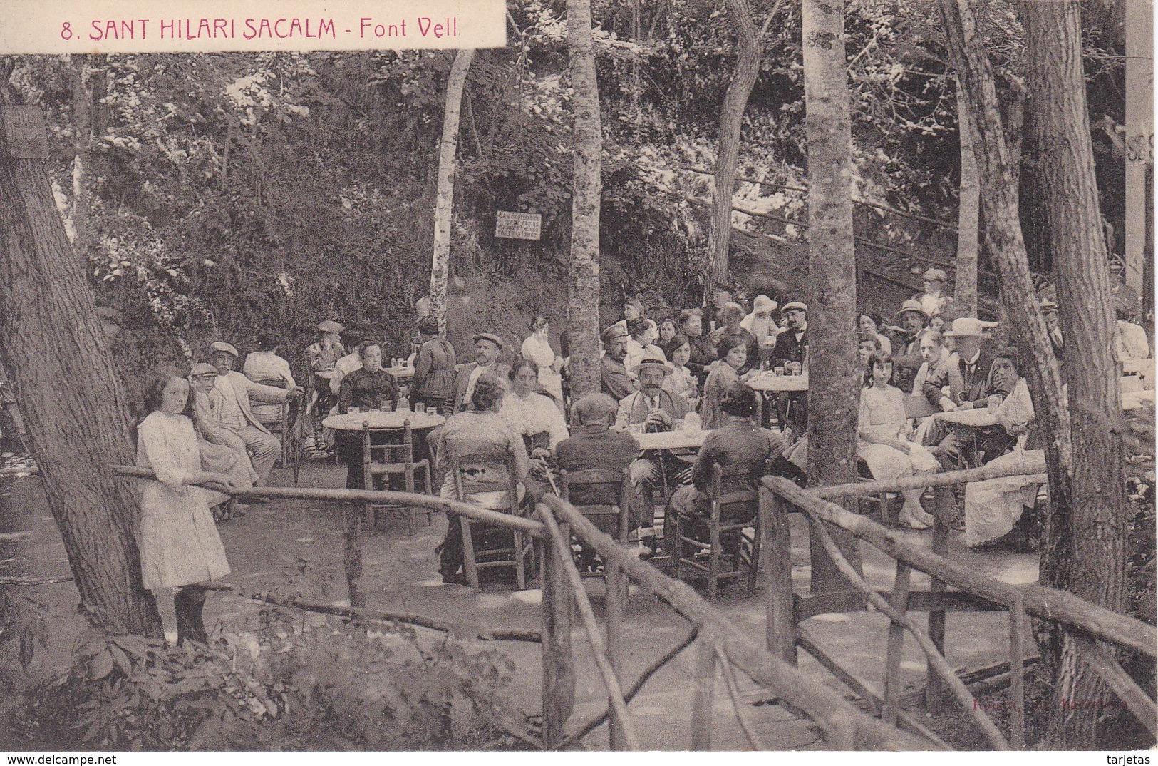 8 POSTAL DE SAN HILARI SACALM DE LA FONT VELL  (GIRONA-GERONA) - Gerona
