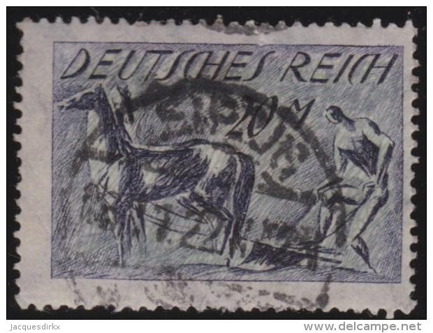 Deutsches  Reich   .    Michel   .   196         .     O     .     Gebraucht   .   /     .    Cancelled - Deutschland